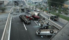 Chile Earthquake 2010 - Collapsed freeway