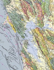 Geologic Map of California (2010) - Bay Area