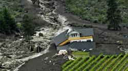 June 2010 Oliver, B.C. mudslide and debris flow