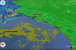 EPA Google Earth file on BP Deep Water Horizon Oil Spill