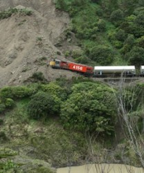 Milk train strikes Landslide