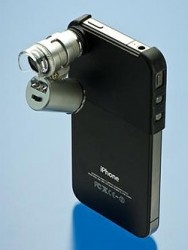 Microscope attachment for iPhone