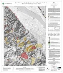 Oregon DOGAMI Landslide Inventory Map
