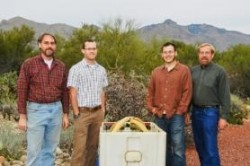 Members of the UofA's Compressed Air Energy Storage group or CAES