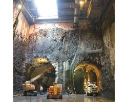 Excavation and ground freezing by Moretrench for MTA's Second Avenue Subway