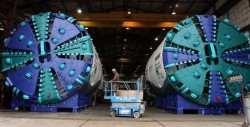 TBMs for Seattle light rail