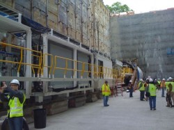 TBM named Brenda for Seattle Sound Transit's Capital Hill tunnel project