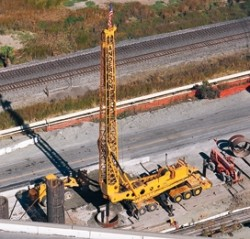 Big Stan, the largest foundation drill rig in the southwest
