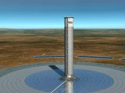 EnviroMission solar tower project rendering