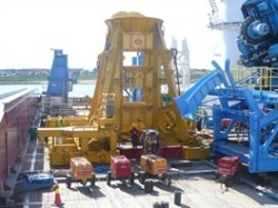 Subsea piling frame from LDD