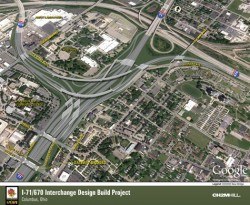 Rendering of the Columbus Crossroads Project