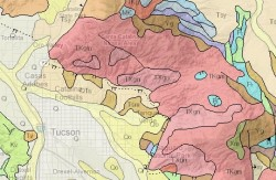 Arizona Geology Map