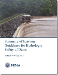FEMA Report: Summary of Existing Guidelines for Hydrologic Safety of Dams