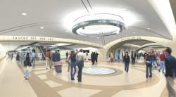 Future east side access platform.