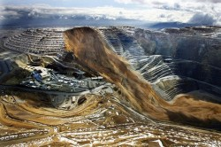 April 10, 2013 landslide at the Bingham Canyon Mine in Utah