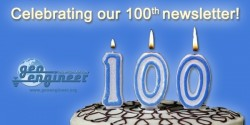 Geoengineer.org celebrates their 100th newsletter!