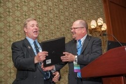 John Bachner celebrates his 40th anniversary with ASFE/GBA