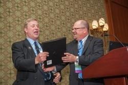 John Bachner celebrates his 40th anniversary with ASFE/GBA