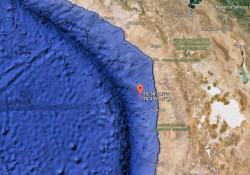 April 1, 2014 Chilean Earthquake Location