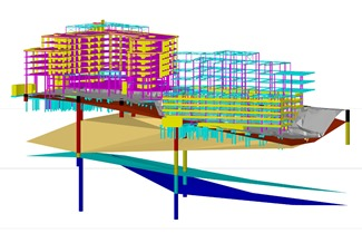 Incorporating geotechnical data in BIM allows considered design optioneering and refinement at the outset of a project; minimises geotechnical risk in construction and enables cost-effective repairs and maintenance of assets throughout the project's lifetime. Image courtesy of Mott MacDonald.