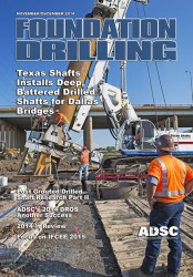 ADSC Foundation Drilling Magazine - November/December 2014