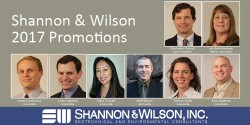 Shannon and Wilson Promotions for 2017