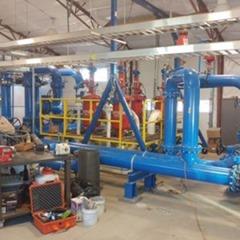 TerraThane geotechnical polyurethane saves slab at hydraulic fracturing station