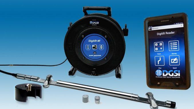 Digitilt AT Inclinometer Equipment from DGSI Slope Indicator
