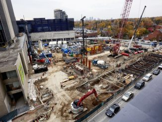 Keller is providing technically complex supporting works for Yonge Station as part of the Eglinton Crosstown line project in Toronto.