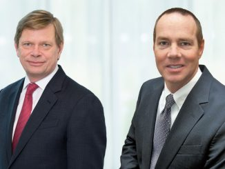 James Hind (left), Keller Group's Divisional President, North America and Eric Drooff (right), President of Hayward Baker, now also Keller Group's COO, North America.