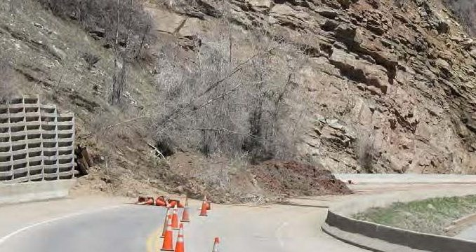 Retaining Wall Failure - Credit Mark Vessely