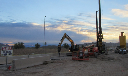 Hayward Baker Highway 202 project, Mesa, AZ.