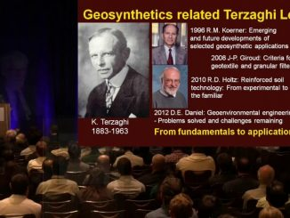 2017 Karl Terzaghi Award Lecture by Kerry Rowe