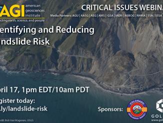 Webinar on Identifying and Reducing Landslide Risk
