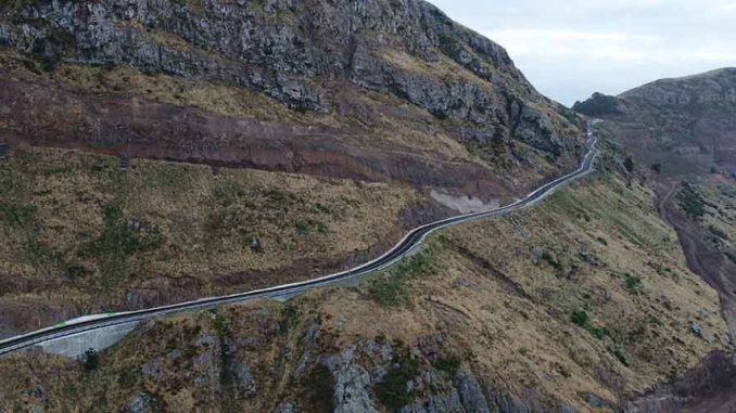 Sumner Road in New Zealand reopens after repair of earthquake damage
