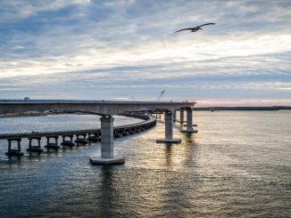 Marc Basnight Bridge in the Outer Banks, North Carolina