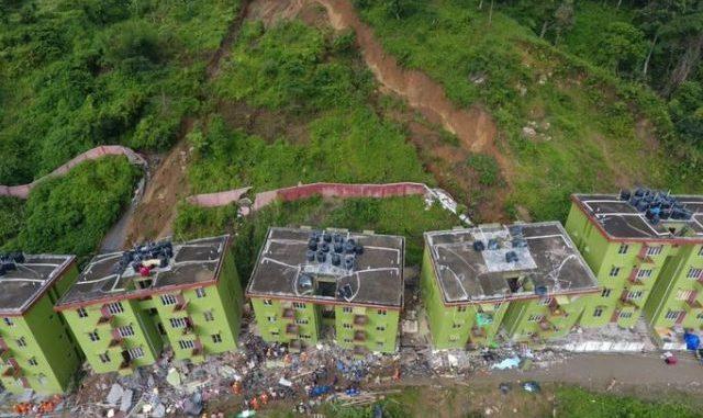 Landslide in Mizoram India kills 3