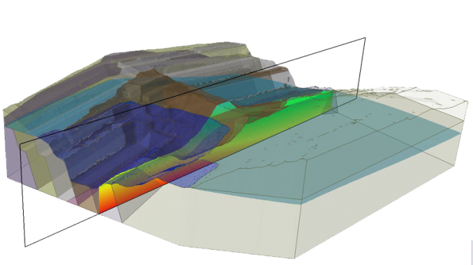 RS3 3D Finite Element Program for Slopes, Tunnels and Excavations