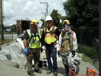 SlabJack Geotechnical Crew on the Richmond Project