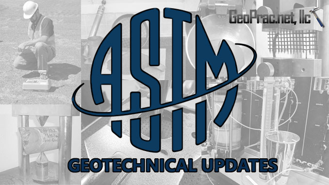 ASTM Geotechnical Updates by GeoPrac.net