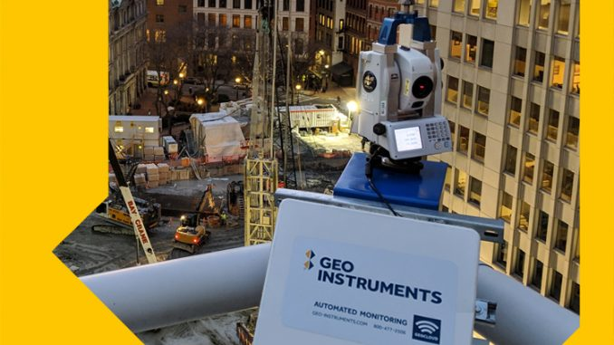 Automated total station for geotechnical monitoring (credit Geo-Instruments)