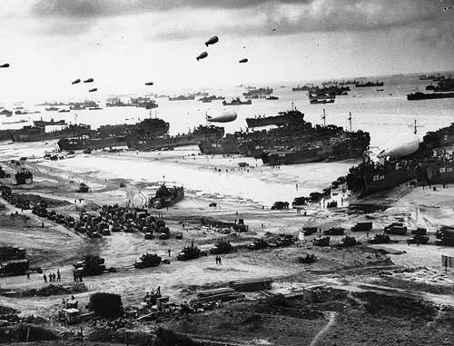 June 6, 1944 - D-Day Invasion at Normandy