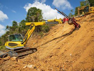 New soil nail launcher from GeoStabilization International